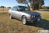 1992 BMW E34 535i Sedan for Sale