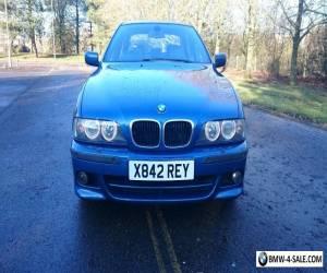 BMW E39 5 Series 530i M Sport Petrol Rare Manual 2000 for Sale