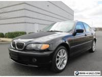 2004 BMW 3-Series Base Sedan 4-Door