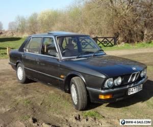 Beautiful Classic Vintage BMW 520i 1984 auto E28 E30 for Sale