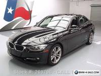 2012 BMW 3-Series 335I SEDAN SPORT LINE TECH SUNROOF NAV HUD