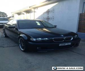 BMW 2004 E46 Black Sedan,25i for Sale