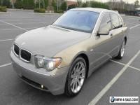2003 BMW 7-Series Sport Sedan 4-Door
