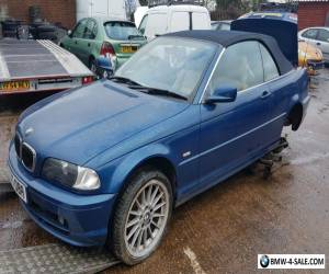 BMW 3 SERIES CONVERTIBLE 325 Ci 2dr Auto GREAT RUNNER NEEDS REPAIR  for Sale