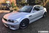 BMW M3, 2002 E46 SMG Coupe, Titanium Silver, 69,000 miles for Sale