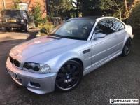 BMW M3, 2002 E46 SMG Coupe, Titanium Silver, 69,000 miles