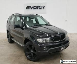 2004 BMW X5 E53 Black Sports Automatic Wagon for Sale