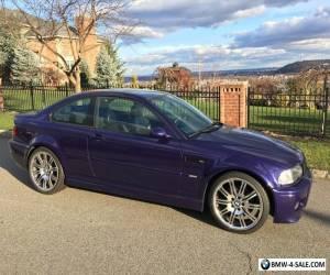 2002 BMW M3 2 door for Sale