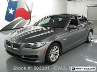 2014 BMW 5-Series 528I TURBOCHARGED SUNROOF NAVIGATION