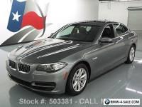 2014 BMW 5-Series 528I TURBOCHARGED SUNROOF NAVIGATION