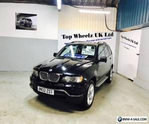 BMW X5 3.0D SPORT DIESEL AUTOMATIC, 2002 PLATE, 12 MONTHS MOT, FULL SERVICE HIST for Sale