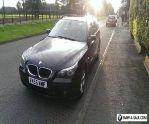 BMW 520 Touring, e60, e61, 520d, manual diesel estate - Leather Interior for Sale