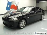 2011 BMW 5-Series 550I SPORT TURBO SUNROOF NAV HEATED SEATS