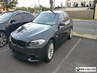 2011 BMW 5-Series 4 Door Sedan