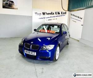BMW 320D M SPORT 3 SERIES DIESEL, 2008 PLATE, LE MANS BLUE, FULL SERVICE HISTORY for Sale
