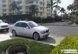 2007 BMW 7-Series Base Sedan 4-Door for Sale