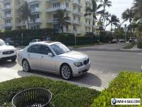 2007 BMW 7-Series Base Sedan 4-Door