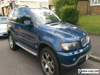 BMW X5 Sport with LPG so half price on fuel. New Gear Box and Alternator