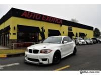 2011 BMW 1-Series Base Coupe 2-Door