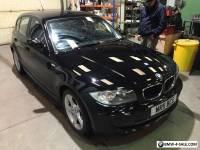 BMW 118d sport 5 door 2011