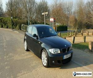 Black BMW 1 Series Automatic Sports 120iM 76,000 miles  for Sale