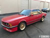 1985 BMW M6 M635csi