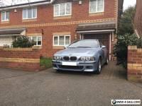 BMW M5 E39 2000 Silverstone Blue incredible V8 car