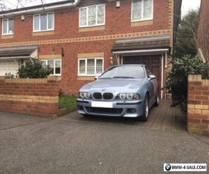 BMW M5 E39 2000 Silverstone Blue incredible V8 car for Sale