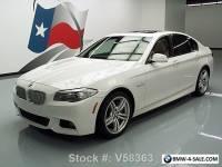 2012 BMW 5-Series 550I M SPORT HEATED SEATS SUNROOF NAV