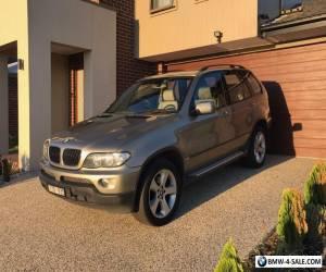 2006 BMW X5 E53 3.0i PETROL TURBO 6spd AUTO 4WD SUV WAGON  for Sale