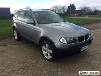 2004 BMW X3 SPORT GREY 3.0 AUTO AUTOMATIC E83 4X4 LOW MILEAGE