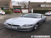 BMW Z4 3.0 SI Coupe Silver