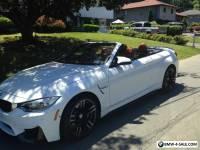 2016 BMW M4 m4 conv