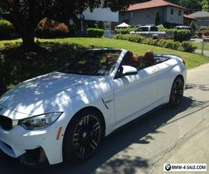 2016 BMW M4 m4 conv for Sale