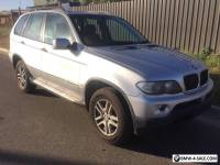 2004 BMW X5 E53 3.0L DIESEL TURBO 6spd AUTO 4WD SUV WAGON LIGHT HAIL DAMAGE