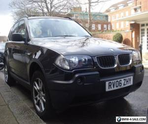 BMW X3 manual 2006 for Sale