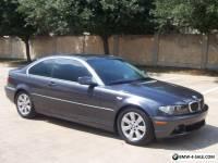 2006 BMW 3-Series 325Ci Sport