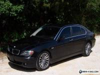 2006 BMW 7-Series 750Li Luxury Sport