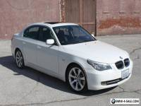 2008 BMW 5-Series 4-Door Sedan