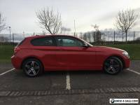 BMW 1 SERIES 116i SPORT RED 2015