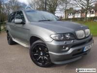 BMW X5 SPORT 3.0D 2005/05 with ***96000 miles & PANORAMIC ROOF & TV ***