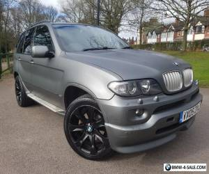 BMW X5 SPORT 3.0D 2005/05 with ***96000 miles & PANORAMIC ROOF & TV *** for Sale