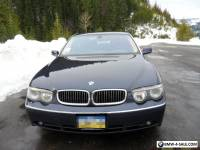 2003 BMW 7-Series 745Li Long wheel base