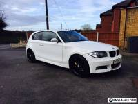BMW 123d M SPORT  ( TWIN TURBO TOP SPEC) Alpine white