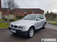 2006 56 BMW X3 2.0 D SE Part Ex