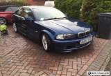bmw e46 3 series 325ci msport manual coupe for Sale