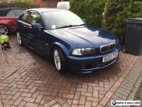 bmw e46 3 series 325ci msport manual coupe