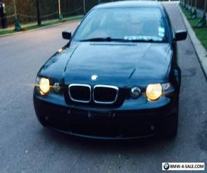 bmw 316ti M sport compact 2004 RARE red leather and dash refurbished engine 109k for Sale