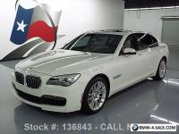 2013 BMW 7-Series 740LI M-SPORT TURBOCHARGED SUNROOF NAV