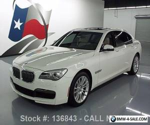 2013 BMW 7-Series 740LI M-SPORT TURBOCHARGED SUNROOF NAV for Sale